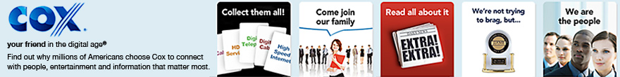 Cox Communication - Click To Visit