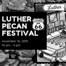 Join us for the Luther Pecan Festival, November 16, 2019