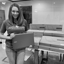 Anna's House Foundation Provides Laptops For Children In Foster Care.