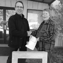 DOLESE DONATES TO MARLAND COMMUNITY CENTER