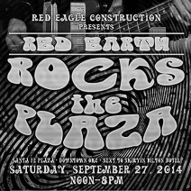 'Red Earth Rocks the Plaza'