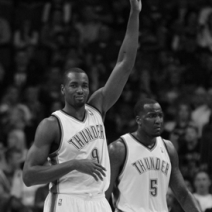 Serge Ibaka upgraded to day-to-day with calf injury