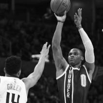 Durant shines as Thunder nips Suns, 137-134