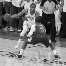 Thunder goes on improbable run, wins Game 5 to take 3-2 series lead