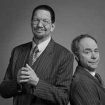 Duo Penn & Teller will be in Oklahoma City