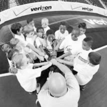 VERIZON Brings Oklahoma Ledgends to Football Camp July 25