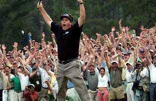 The photos that tell some of the Masters' most important stories