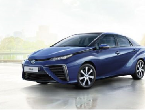 Toyota Places Sedan-Sized Bet On Hydrogen-Powered Mobility