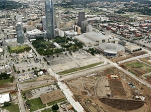 Oklahoma City Boulevard continues to slice through downtown