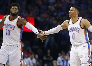 Thunder places four players in SI's Top 100 NBA; Westbrook, George in Top 11