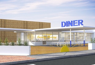Diner approved for key Edmond corner while nearby retailer closes.
