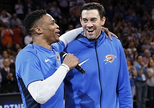 Nick Collison's No. 4 to be retired by Thunder