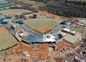 Work continues on $21 million expansion of national softball stadium