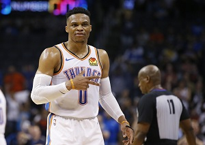 3 for 3: Russell Westbrook clinches third straight season averaging a triple-double
