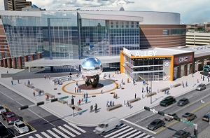 Thunder Alley Entertainment Block proposed south of arena