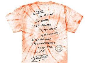 Westbrook Releases Zero Regrets Shirt