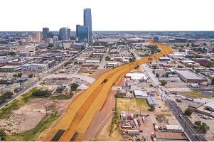 Oklahoma City Blvd. officially opens