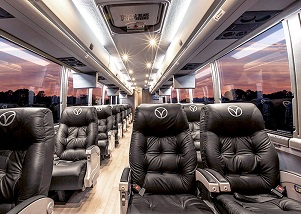 Luxury bus service to run between OKC and Dallas