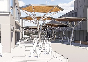 $4 million pedestrian way proposed for convention center