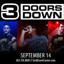 3 Doors Down in Concert