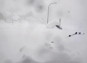 Snow Storm Beats Buffalo Bills
