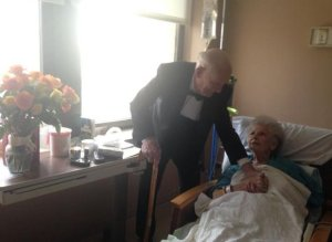 Man's Tender Surprise For His Wife On Their 57th Anniversary Goes Viral