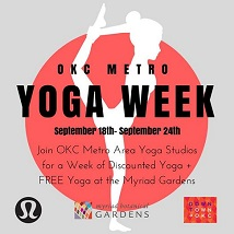 Free Morning of Outdoor Yoga