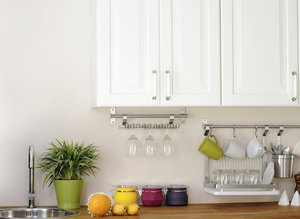 How To Avoid Kitchen Counter Clutter Without Throwing A Single Thing Away
