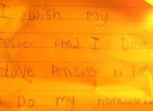 What Students Wish Their Teacher Knew