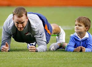 Peyton Manning's Adorable Son Is Going To Be The Next Great Quarterback
