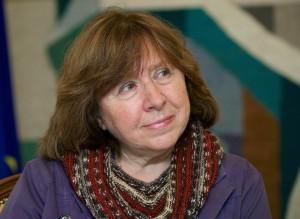Belarusian Journalist Wins Nobel Prize In Literature