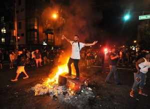 Giants Fans Celebrate World Series Victory By Destroying San Francisco