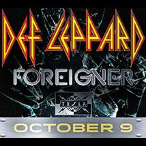 Def Leppard, Foreigner & Tesla in Concert