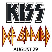 KISS & Def Leppard in Concert