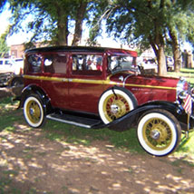 Mangum Antique Classic Car Show