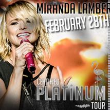 Miranda Lambert in Concert