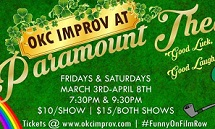 OKC Improv at Paramount Theatre